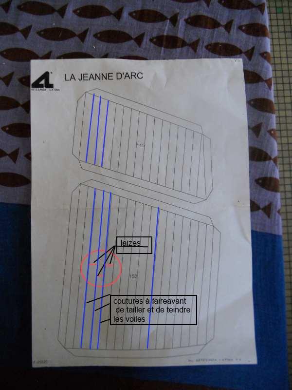 """Lougre """"Le Grand Lejon""""shistership de la """"Jeanned'Arc"""" au 1/35 AL - Page 2 83825910"""
