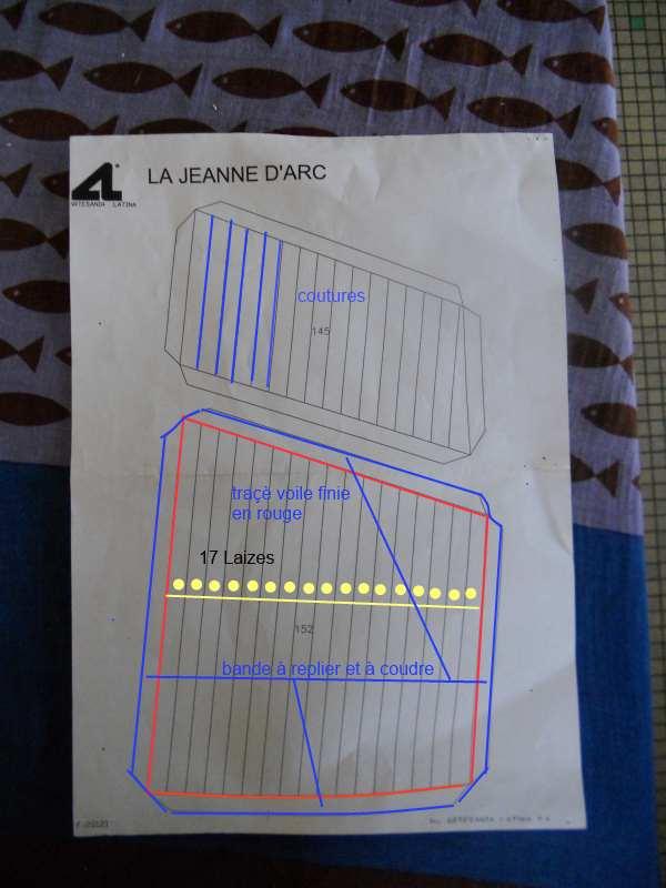 """Lougre """"Le Grand Lejon""""shistership de la """"Jeanned'Arc"""" au 1/35 AL - Page 3 83825911"""