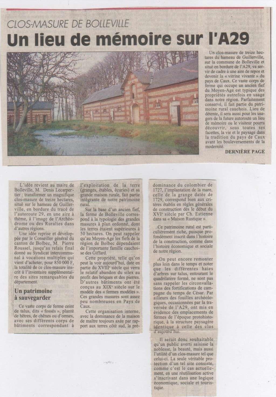 Histoire des communes - Bolleville Histoi10