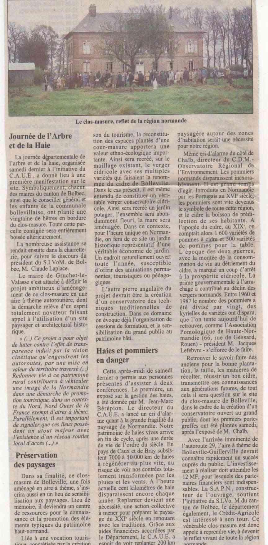 Histoire des communes - Bolleville Histoi11