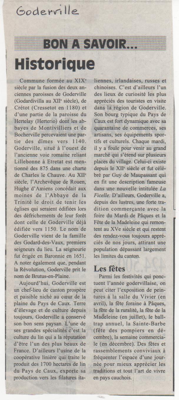 Histoire des communes - Goderville Histoi31