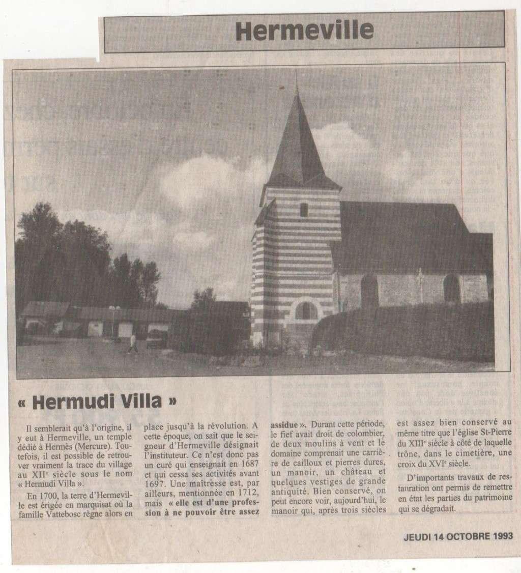 Histoire des communes - Hermeville Histoi35