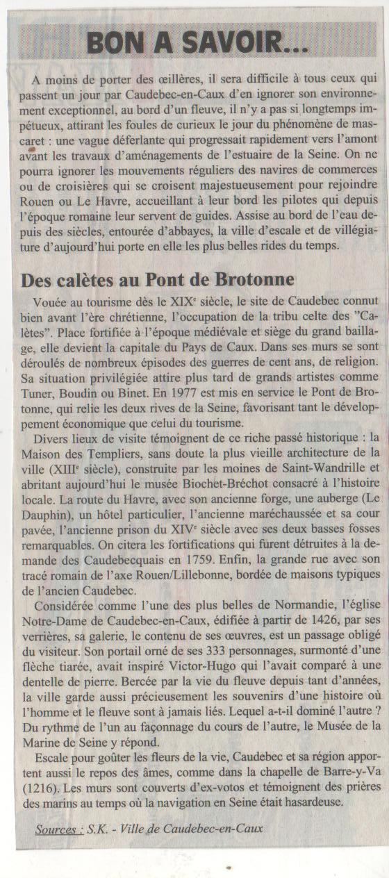 Histoire des communes- Caudebec-en-Caux Histoi38