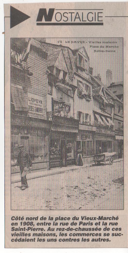 Le Havre - Place du Vieux Marché Nostal14
