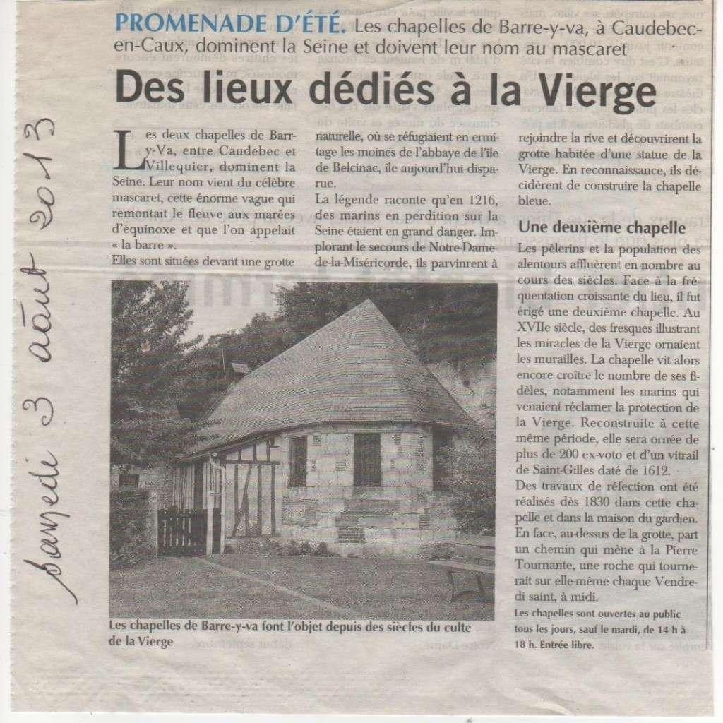 Caudebec-en-Caux - Chapelles Barre-y-va Pays-d10