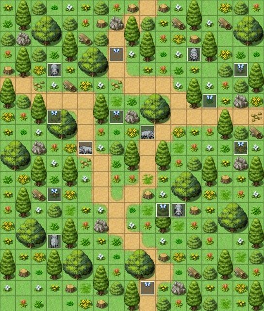 Mes maps pour mon projet Exempl12