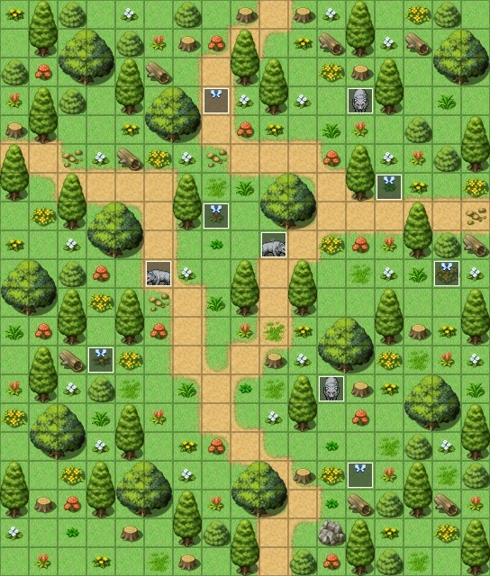 Mes maps pour mon projet Exempl14