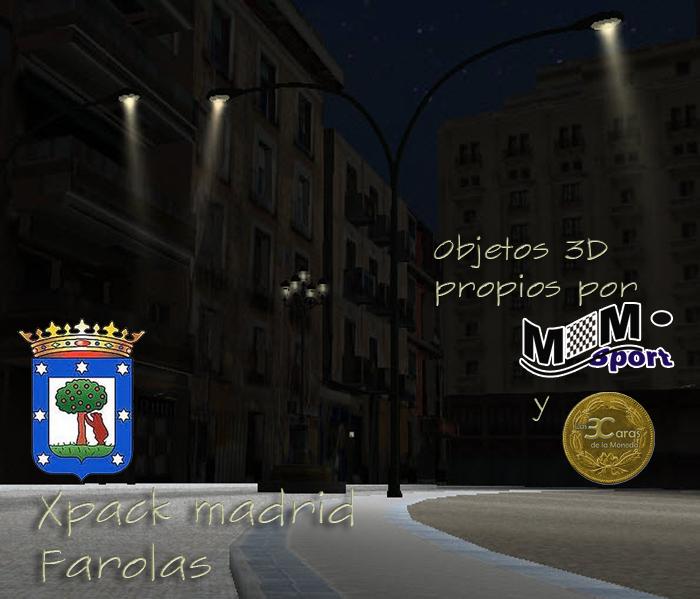 xPack de Farolas operativas para BTB (Serie Las3Caras - Madrid) Descri10