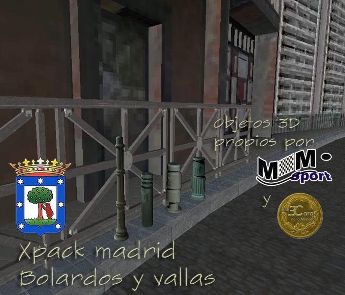 xPack de Bolardos para BTB (Serie Las3Caras - Madrid) Descri11