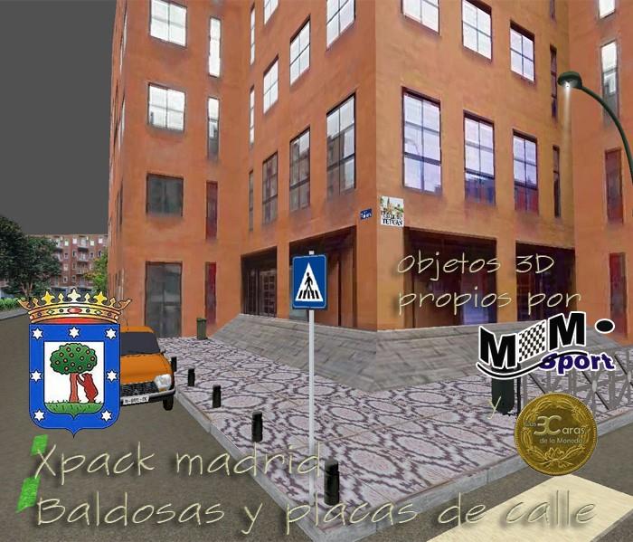 xPack de Baldosas y Azulejos de calles para BTB (Serie Las3Caras - Madrid) Descri12