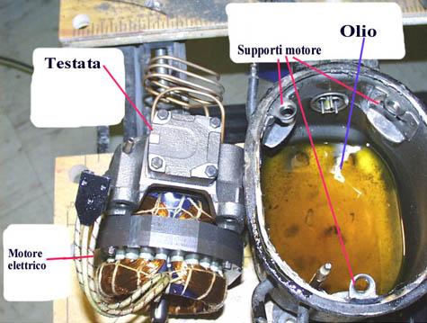 """Compressore """"fatto in casa"""" Comp310"""