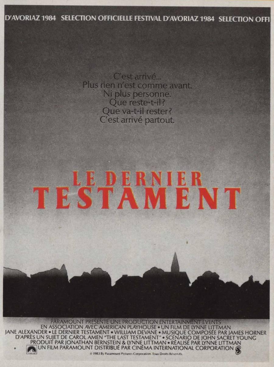 Le Dernier Testament 5980610