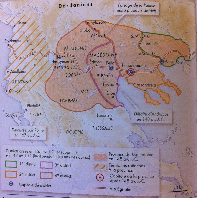 Rome et la conquête de la Macédoine  Via_eg10