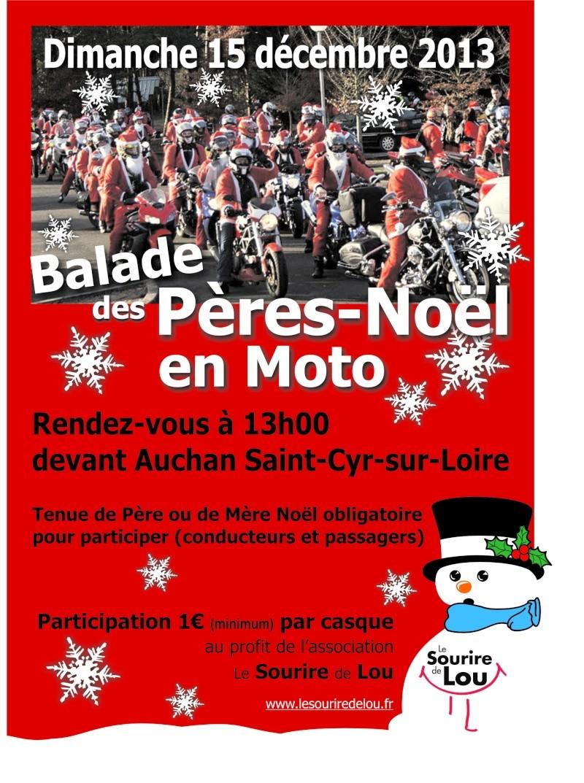 MANIFESTATION - balade des peres noel 2013 en moto  Balade10