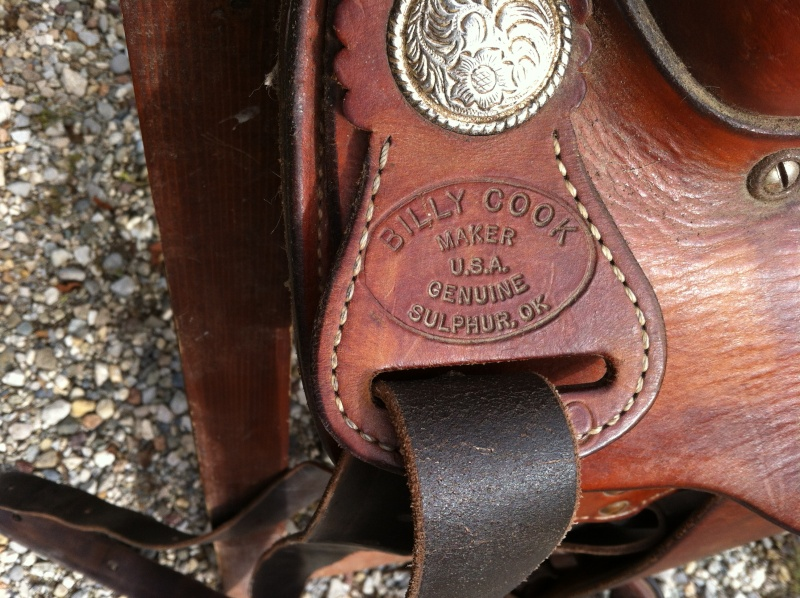 selle western Billy Cook Img_1512