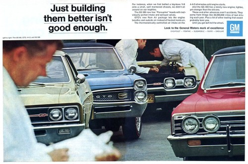 Car adverts old and new 67gm-510