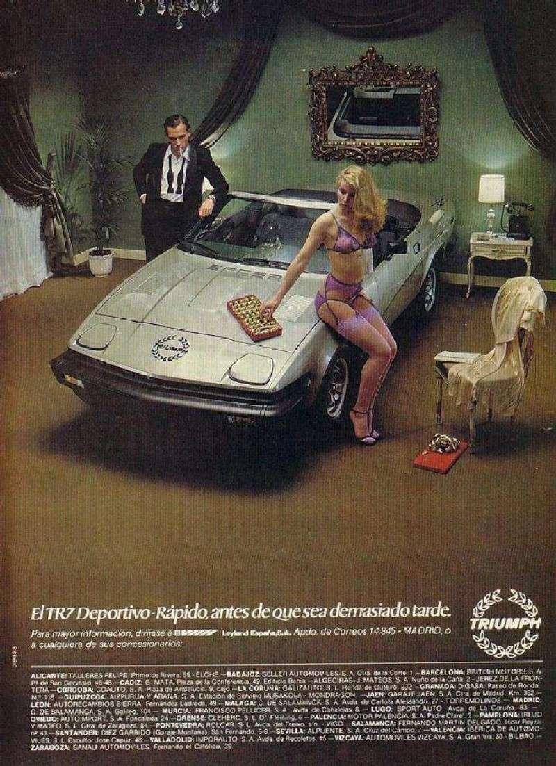 Car adverts old and new 75to8110