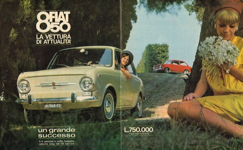 Car adverts old and new Fiat_810