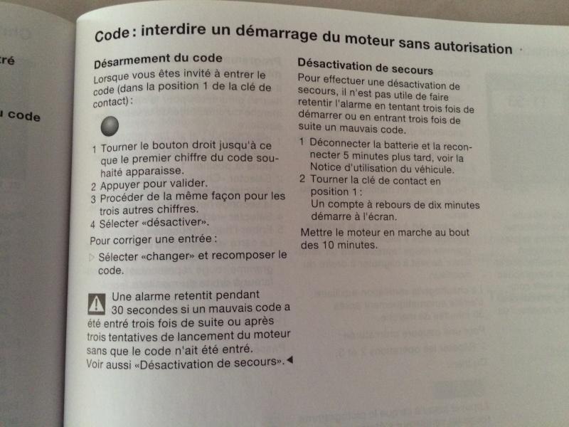 problème de démarrage, demande d'un code - Page 2 Img_1420