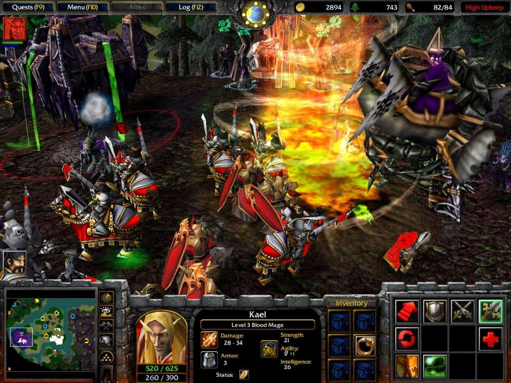 Download Game Warcraft III  Full 1 link - The Frozen Throne Warcra10