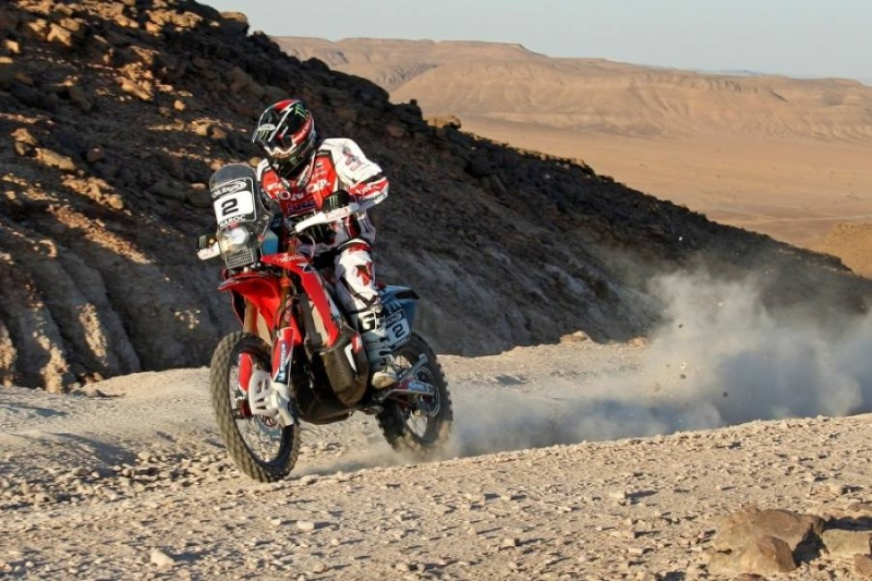 Honda dévoile la CRF450 Rally du prochain Dakar 13799810