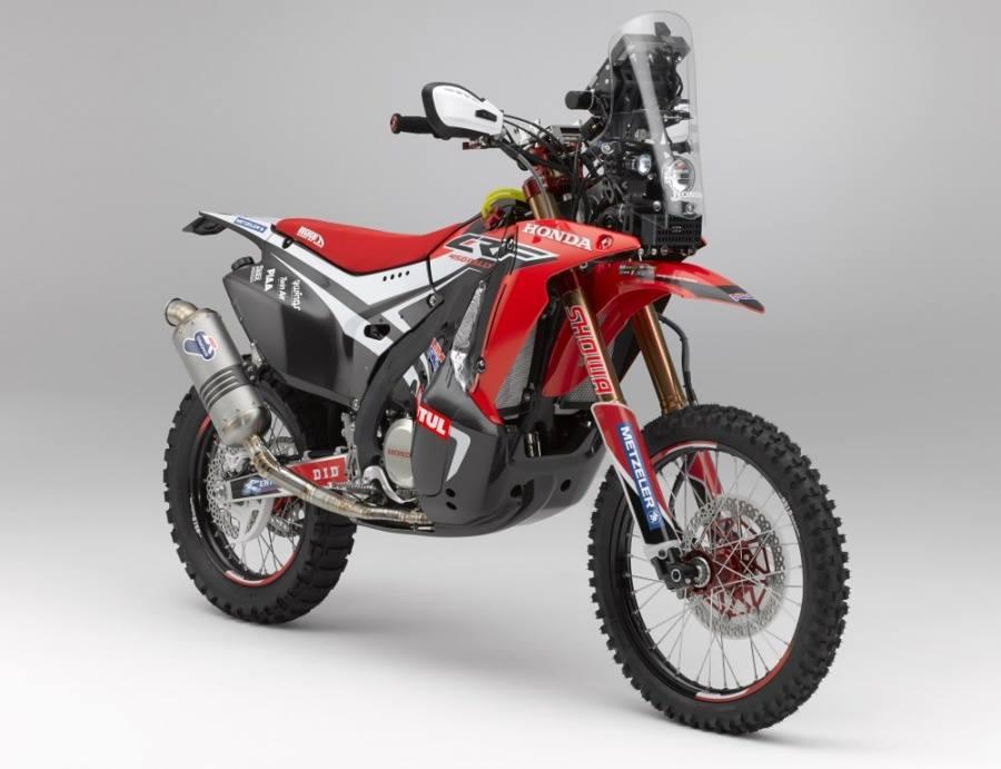 Honda dévoile la CRF450 Rally du prochain Dakar 52919610