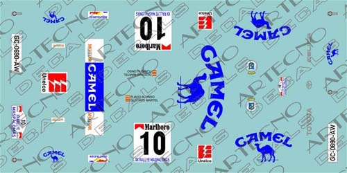 toyota celica Rallye El Corte Inglés 1993     Celica11