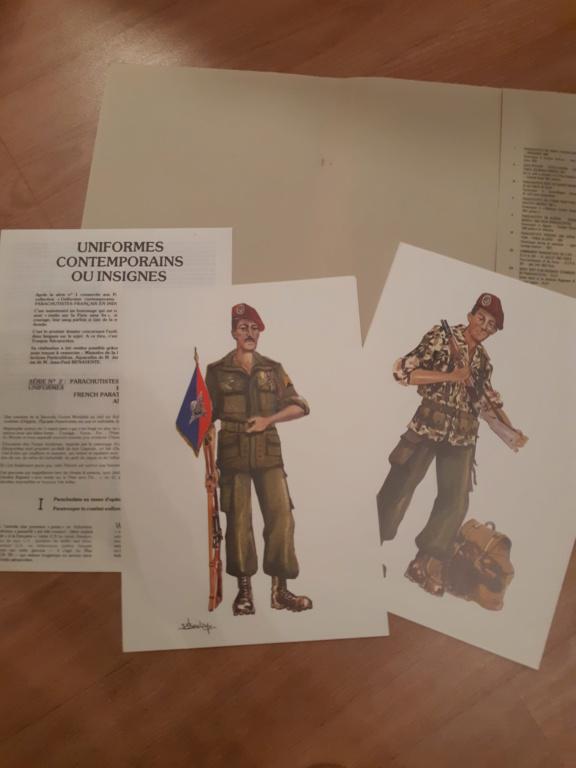Planches parachutistes Indo et Algérie  20190125