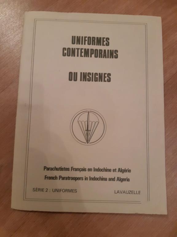 Planches parachutistes Indo et Algérie  20190126