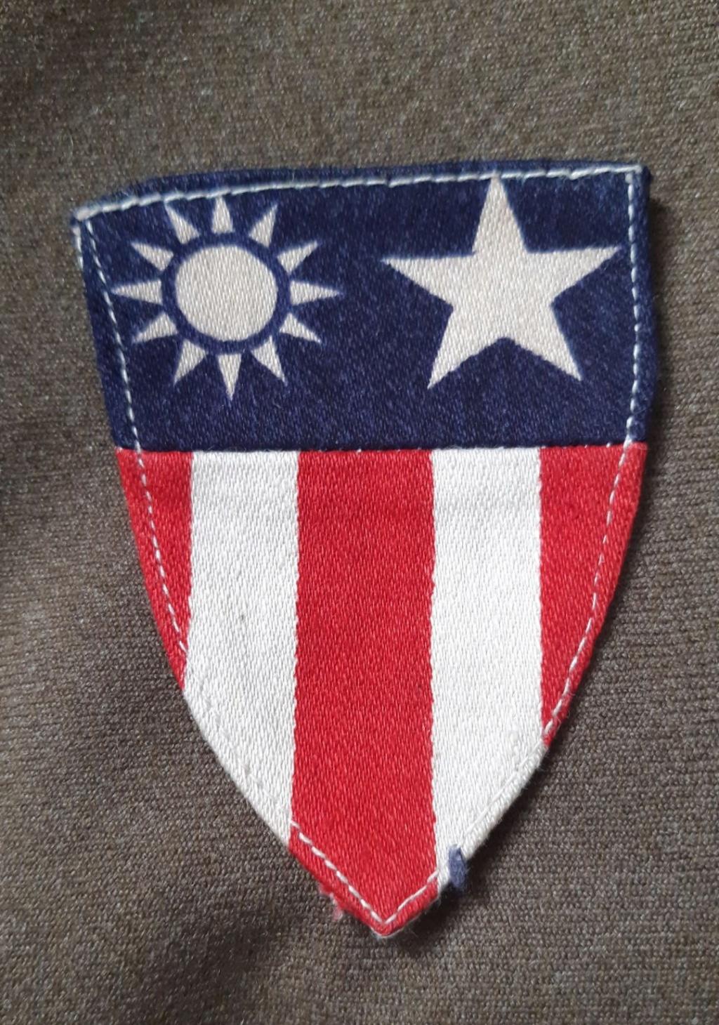 Insigne China-Burma US ww2 20190772