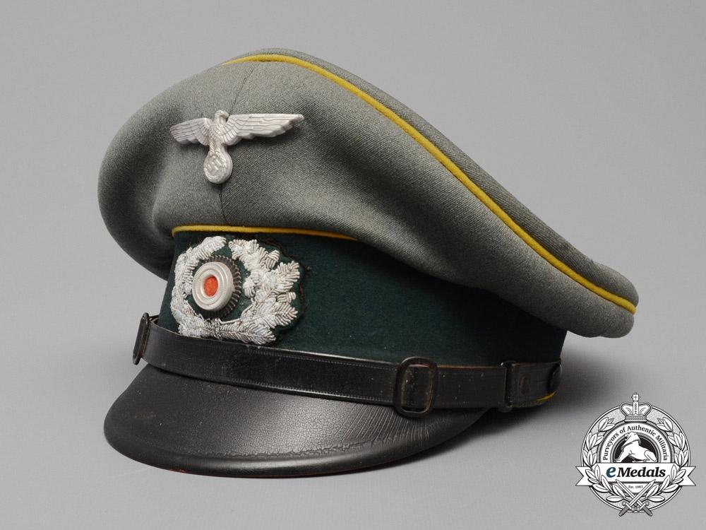 Estimation casquette allemande (sous-officier d'infanterie) brute de découverte E_781010