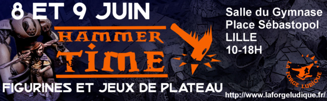 convention Hammer Time 8 et 9 juin 2019 à Lille Hammer10