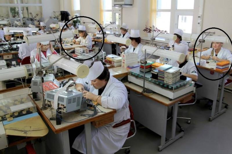 Photos des usines de montres Russes Vostok12