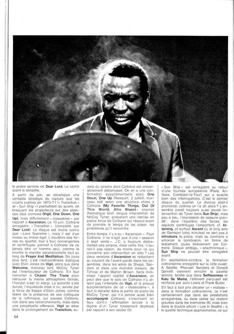 La discographie de Coltrane sur Impulse! R67-5514