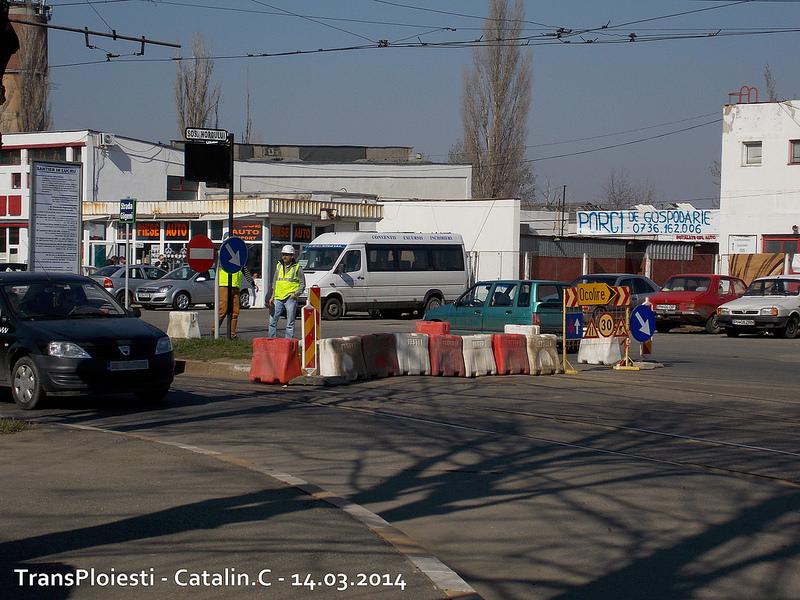 Traseul 102, etapa I: Bucla Nord ( Sp. Județean ) - Intersecție Republicii 13153112