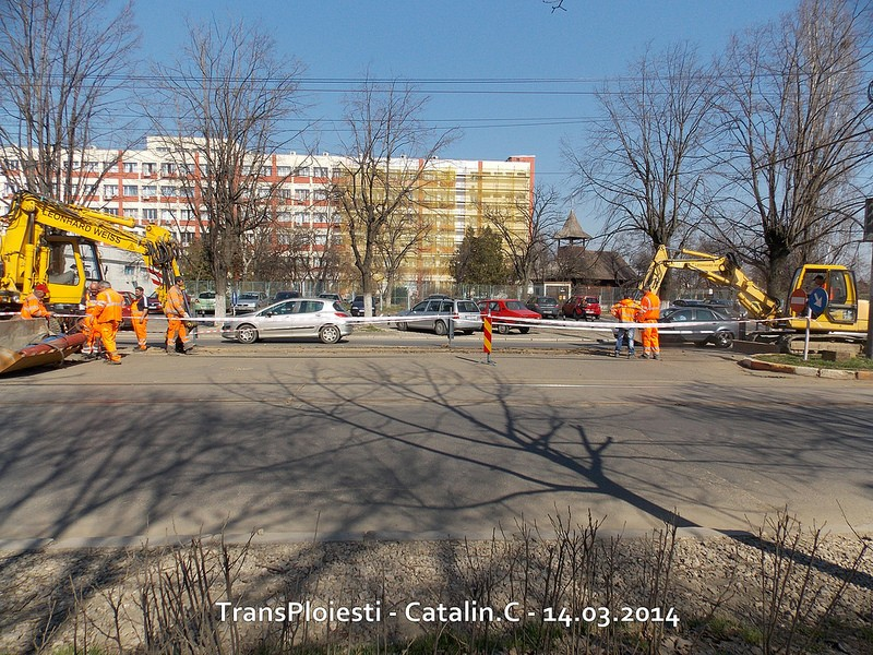 Traseul 102, etapa I: Bucla Nord ( Sp. Județean ) - Intersecție Republicii 13153410