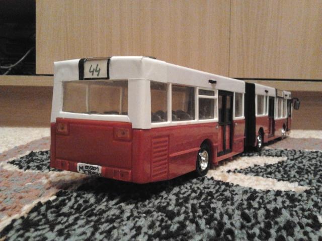Machetă autobuz articulat reparată 2013-217