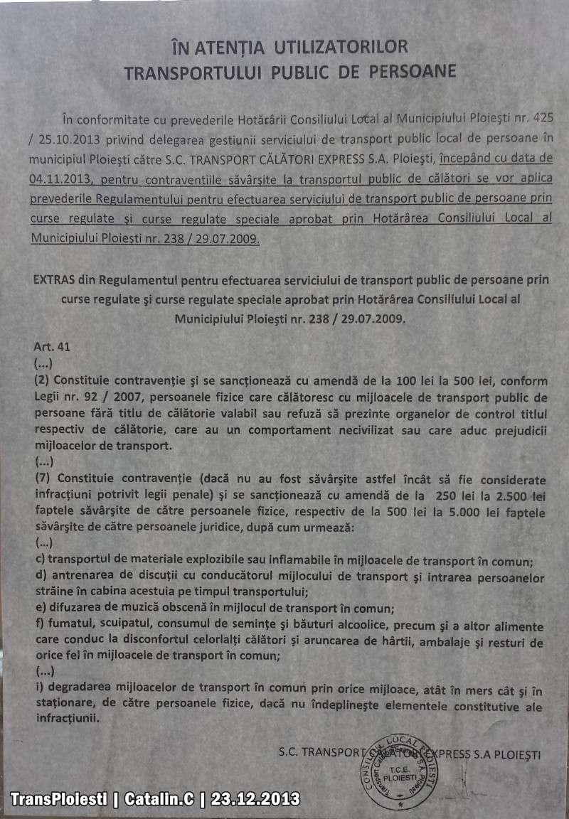 TCE: Afișe. 20131216