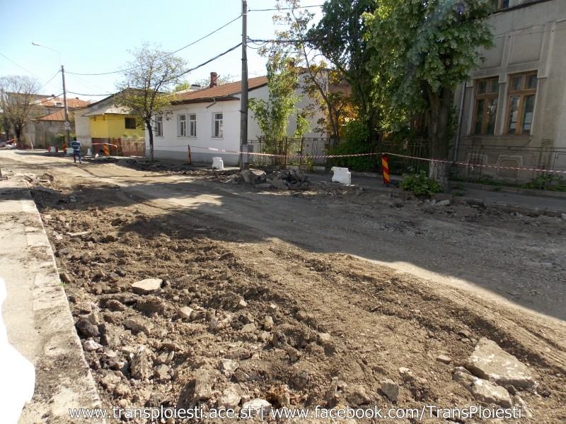 Traseul 101, etapa II: Intersecție Candiano Popescu ( zona BCR ) - Gara de Sud 2146qd10
