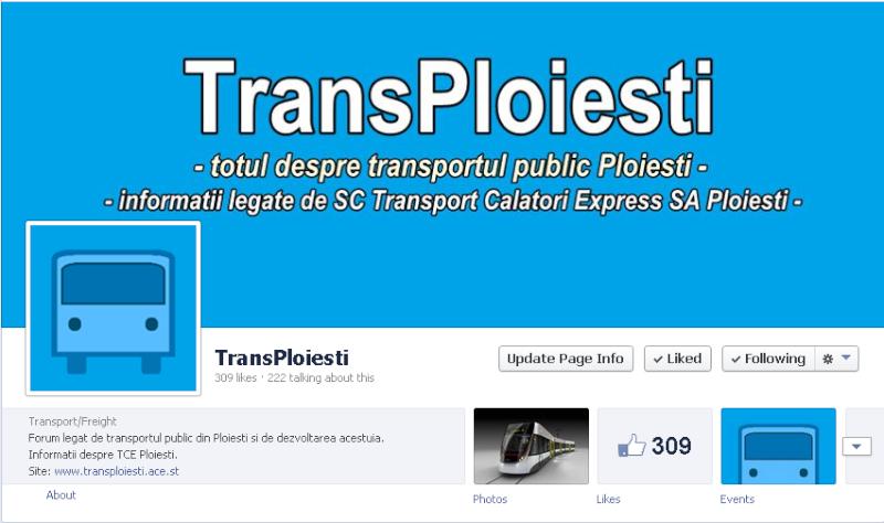 Pagina de facebook a forumului 300k10