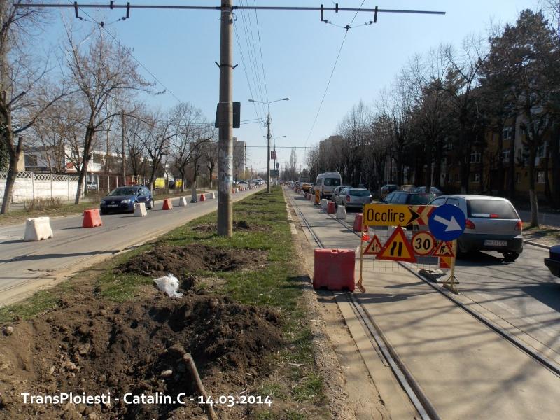 Traseul 102, etapa I: Bucla Nord ( Sp. Județean ) - Intersecție Republicii Dscn0068