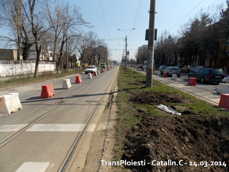 Traseul 102, etapa I: Bucla Nord ( Sp. Județean ) - Intersecție Republicii Dscn0070