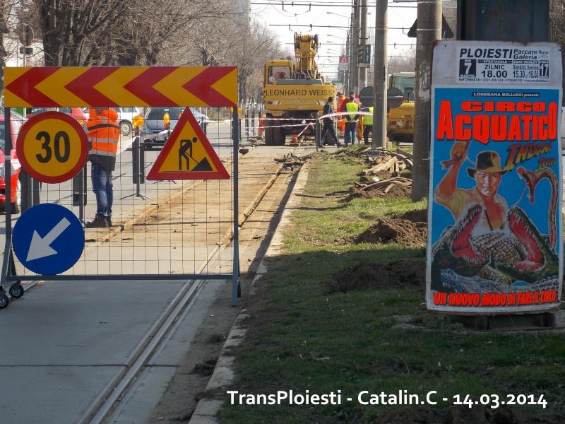 Traseul 102, etapa I: Bucla Nord ( Sp. Județean ) - Intersecție Republicii Dscn0079