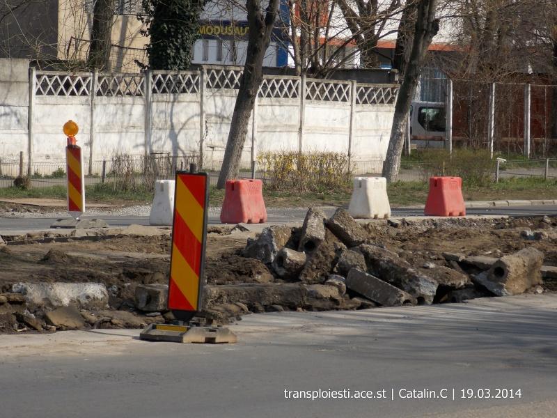 Traseul 102, etapa I: Bucla Nord ( Sp. Județean ) - Intersecție Republicii Dscn0219