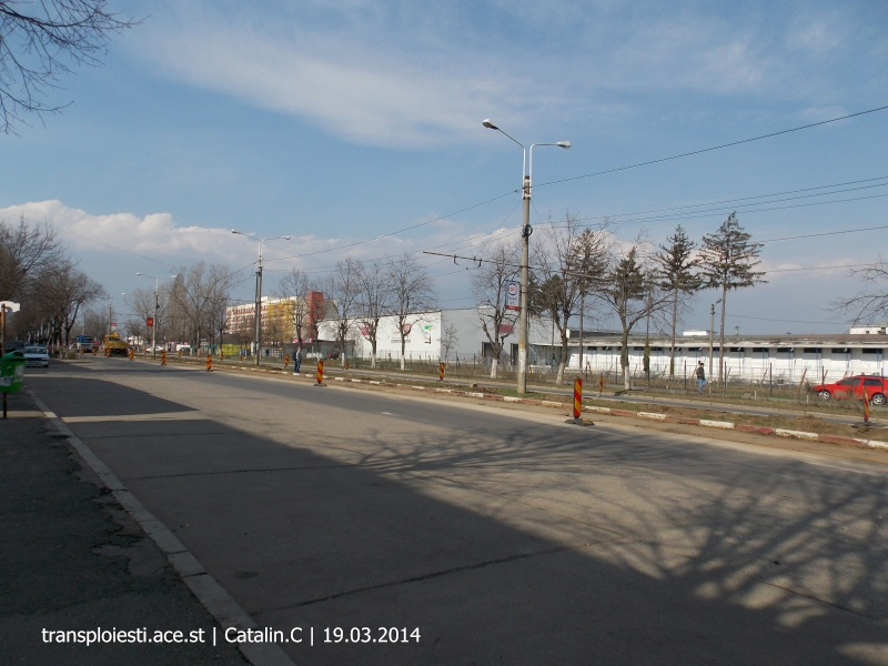 Traseul 102, etapa I: Bucla Nord ( Sp. Județean ) - Intersecție Republicii Dscn0220