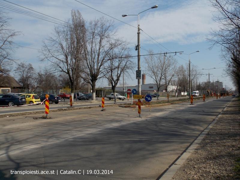 Traseul 102, etapa I: Bucla Nord ( Sp. Județean ) - Intersecție Republicii Dscn0223