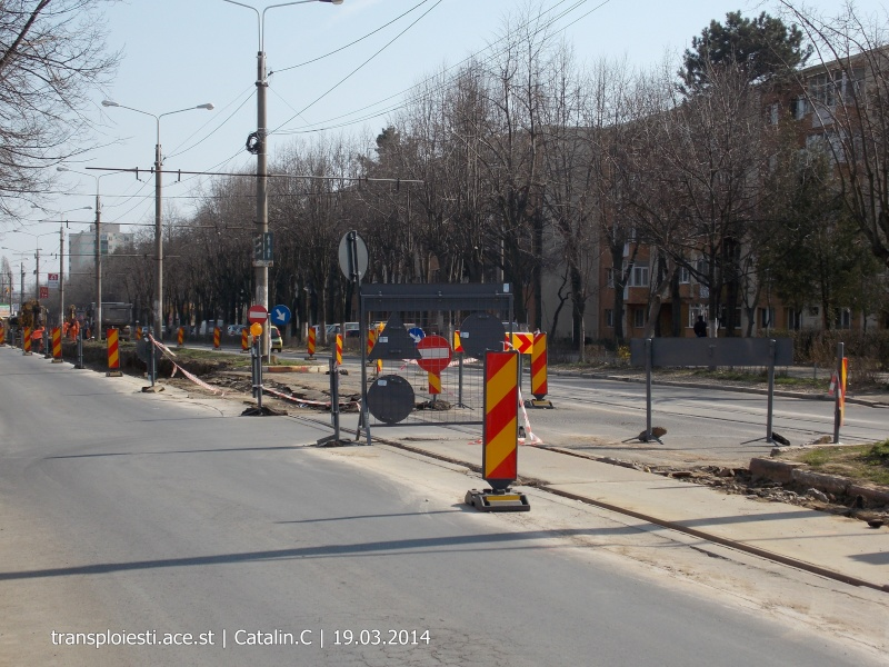 Traseul 102, etapa I: Bucla Nord ( Sp. Județean ) - Intersecție Republicii Dscn0224