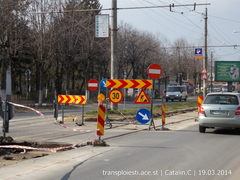 Traseul 102, etapa I: Bucla Nord ( Sp. Județean ) - Intersecție Republicii Dscn0226