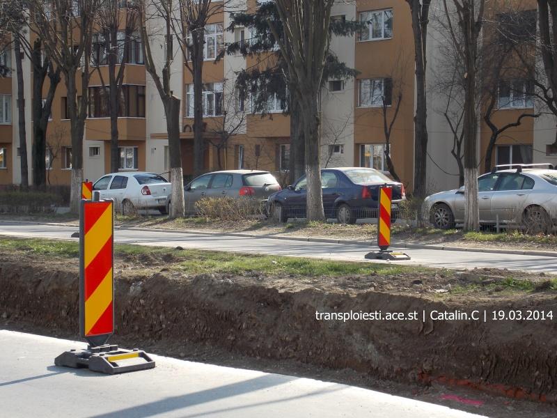 Traseul 102, etapa I: Bucla Nord ( Sp. Județean ) - Intersecție Republicii Dscn0227