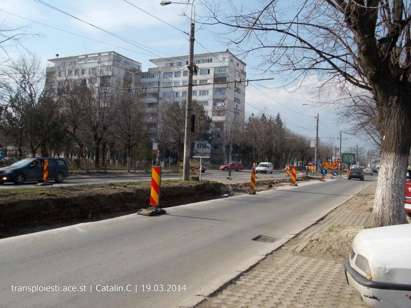 Traseul 102, etapa I: Bucla Nord ( Sp. Județean ) - Intersecție Republicii Dscn0228
